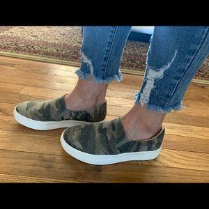 Camo Slip On Sneaker